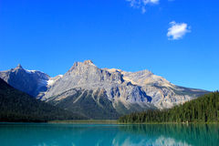 Emerald Lake, Yoho National Park, British Columbia, Canada Royalty Free Stock Photography