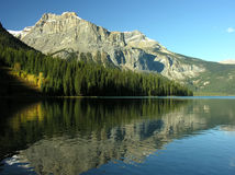 Emerald Lake, Yoho National Park, British Columbia, Canada Royalty Free Stock Images