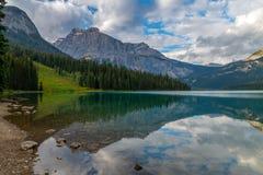 Emerald Lake in Yoho National Park, British Columbia, Canada Stock Photos