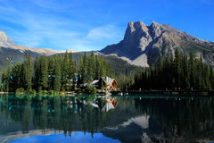 Emerald Lake, Yoho National Park, Brits Colombia, Canada Stock Afbeeldingen