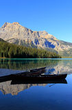 Emerald Lake, Yoho National Park, Brits Colombia, Canada Royalty-vrije Stock Afbeelding