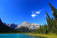 Emerald Lake, Yoho National Park, Brits Colombia, Canada Royalty-vrije Stock Afbeeldingen