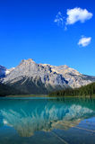 Emerald Lake, Yoho National Park, Brits Colombia, Canada Royalty-vrije Stock Foto's