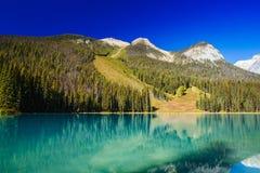 Emerald Lake, Yoho National Park, Brits Colombia, Canada Royalty-vrije Stock Afbeeldingen