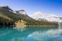 Emerald Lake, Yoho National Park, Brits Colombia, Canada Royalty-vrije Stock Foto