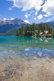 Emerald Lake, Yoho National Park, A.C. Imagenes de archivo
