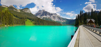 Emerald lake Yoho National park Canada Stock Image