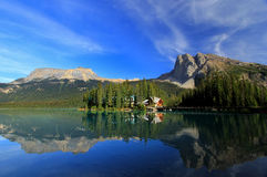 Emerald Lake, Yoho National Park, Colombie-Britannique, Canada Photographie stock