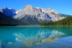 Emerald Lake, Yoho National Park, Colombie-Britannique, Canada Photo stock