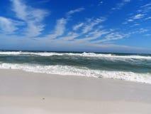 Emerald Ocean Waves des Golf-Küsten-Strandes Lizenzfreies Stockbild