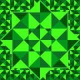 Emerald pattern of geometric shapes. Emerald mosaic background. Royalty Free Stock Image