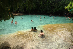 Emerald pool at Krabi Thailand Stock Photography