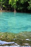 Emerald Pool (Sa Morakot) i Krabi Royaltyfri Bild