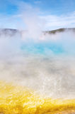 Emerald Pool , Yellow Stone National Park Stock Images