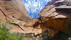 Emerald Pools Trail chez Zion National Park Photos libres de droits