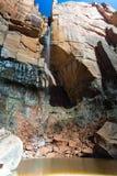 Emerald Pools Waterfall en Zion National Park Fotos de archivo libres de regalías