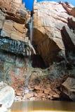 Emerald Pools Waterfall in Zion National Park Royalty-vrije Stock Afbeeldingen