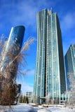EMERALD QUARTER chiamato di costruzione a Astana fotografia stock libera da diritti