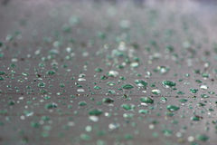 Emerald Raindrops Royalty Free Stock Photo