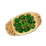 Emerald Ring Royalty Free Stock Photography