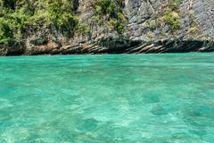 Emerald sea in Thailand Royalty Free Stock Photo