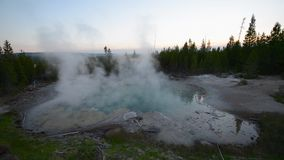 Emerald Spring Norris Geyser Royalty Free Stock Photography