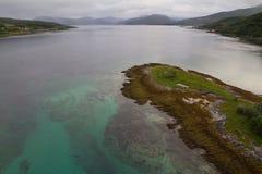 Emerald Strait Fotografía de archivo libre de regalías