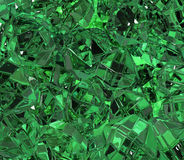 Emerald Surface Stockfoto