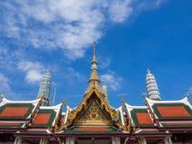 Emerald Temple Bangkok, Thailand Arkivbild