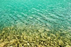 Emerald water Stock Images