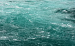 Emerald water background stock photo