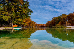 Emerald Waters of Garner State Park, Texas Royalty Free Stock Photos