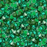 Emeralds. Emerald Seamless Texture Tile Background Stock Photo