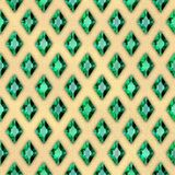 Emeralds Stock Image
