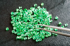 Emeralds Stock Images