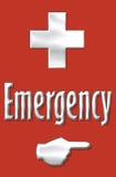 Emergência Fotografia de Stock Royalty Free