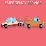 Emergência da cor do transporte Foto de Stock Royalty Free