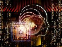 Emergência da inteligência artificial ilustração royalty free