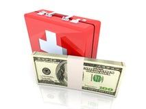 Emergência do dae (dispositivo automático de entrada) do dinheiro Fotografia de Stock Royalty Free