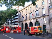 Emergência dos bombeiros Imagem de Stock
