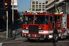 Emergência em Los Angeles Fotografia de Stock Royalty Free