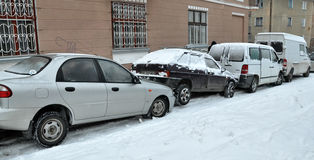 Emergências do inverno da emergência imagens de stock