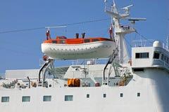 Emergecy boat Stock Photo