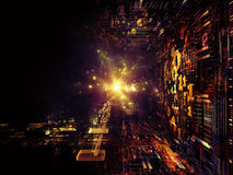Emergence of Fractal Realms Royalty Free Stock Image