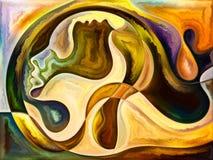 Emergence of Living Canvas stock illustration