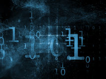 Emergence of Numbers Stock Photo
