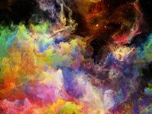 Emergence of Space Nebula Stock Photography