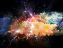 Emergence of Space Royalty Free Stock Photo