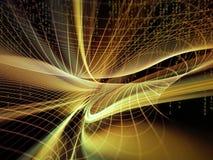 Emergence of the Virtual World Stock Photography