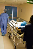 Emergencia del hospital Imagen de archivo libre de regalías